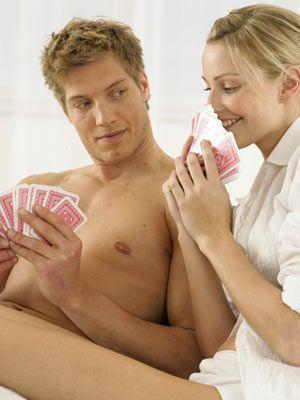 Play strip poker: