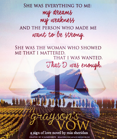 Graysons vow by mia sheridan as i was reading graysons vow i found myself in multiple emotional states from laughing at the witch dragon name callings then to heartbreak from the fandeluxe Image collections