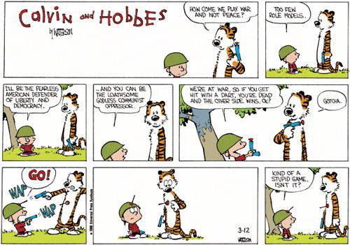 Apologise, final calvin and hobbes comic strip with you