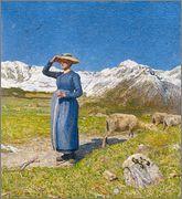 Giovanni Segantini – Mezzogiorno sulle Alpi – 1