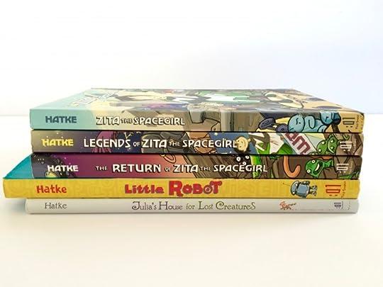 Ben Hatke's books