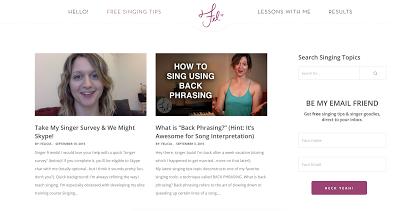 Adult blog listings