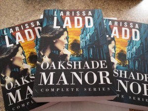 3 Autographed Paperback Copies of Oakshade Manor - Complete Series