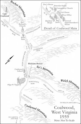 Coalwood West Virginia Map.Homer Hickam S Blog Page 5