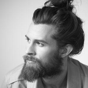 Hipster beard-guy