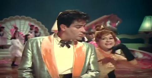 Helen and Shammi Kapoor in Teesri Manzil