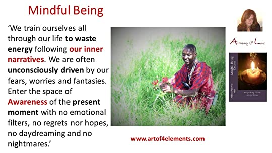Mindful Living Courses Mindful Being Quote about Present Moment and Mindfulness