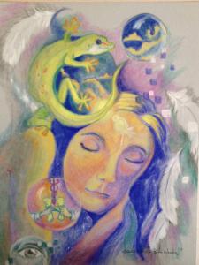 Gecko Dreams by Patricia Robin Woodruff