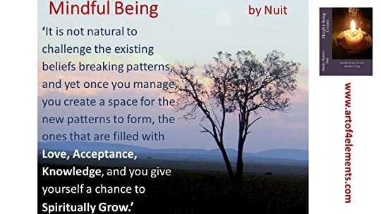 Mindful Being Book Quote about new ways of thinking