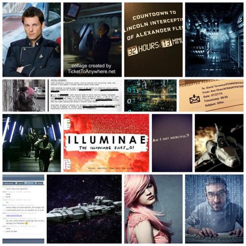 Illuminae Collage