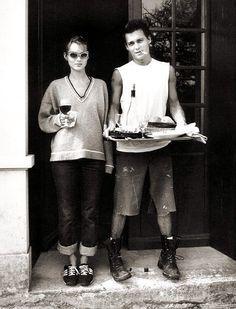 Johnny Depp and Kate Moss, Francois-Marie Barnier, 1994