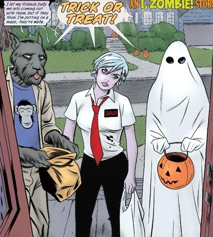 I Zombie Comic Book