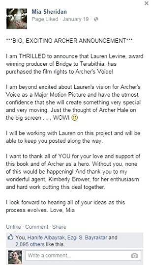 Archers Voice Mia Sheridan Epub