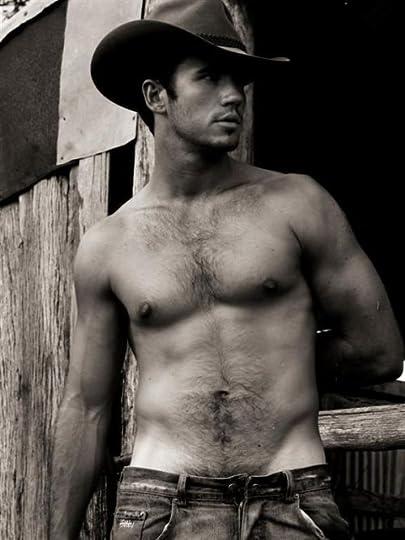 shirtless cowboys: