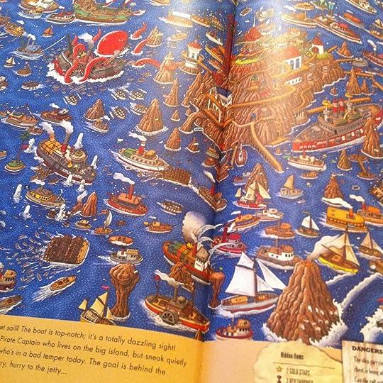 Illustration in Pierre the Maze Detective by Hiro Kamigaki & IC4DESIGN