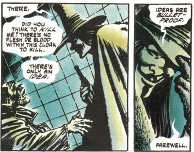 V For Vendetta Comic Book