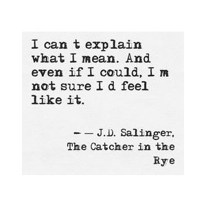 the life of holden caulfield spiraled down to depression Peer rejection instigates low self-esteem in holden ensuing in feelings of solitariness and depression in add-on to societal troubles throughout the narrative holden often mentions feeling down and lonely.