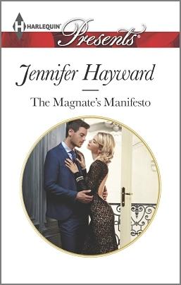 Cover for Jennifer Hayward's The Magnate's Manifesto.