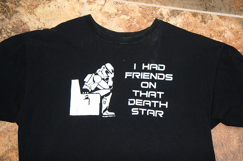 Death Star t-shirt