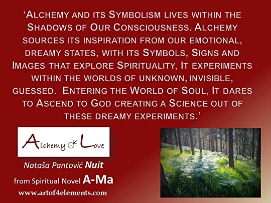 Ama quote about alchemy of soul and alchemy of humanity