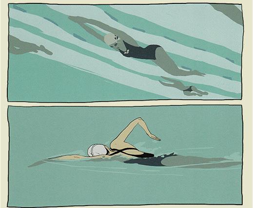 A Taste of Chlorine by Bastien Vivès