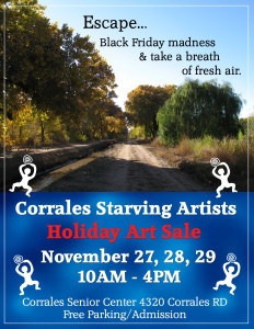 Corrales Holiday Art Show Sale 2015