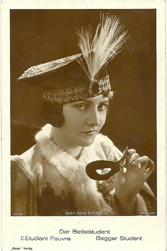 Agnes Esterhazy in Der Bettelstudent (1927)