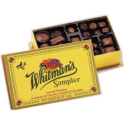 Whitman's chocolates