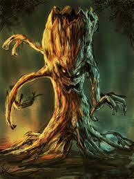 A walking tree