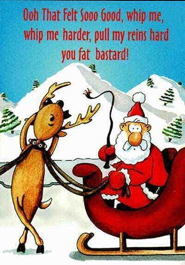 santa and masochistic reindeer