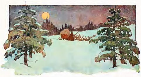 the conclusion of the poem as illustrated by jessie willcox smith from the 1912 edition of twas the night before christmas