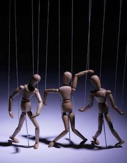 puppets on strings