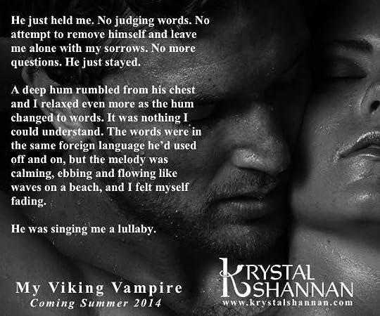 my viking vampire krystal shannan: