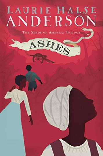 Book Cover Series Quiz : Ashes seeds of america by laurie halse anderson