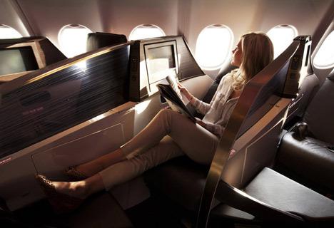 Upper Class Suite by Simon Pengelly for Virgin Atlantic