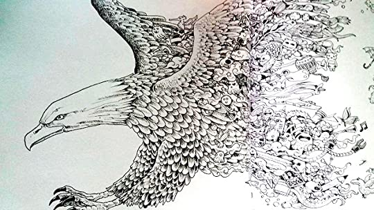 Animorphia: An Extreme Colouring and Search Challenge by Kerby Rosanes