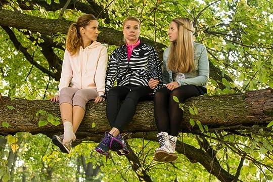 Three women in a tree