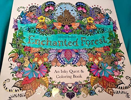 Sarah Marie Youngsville LAs Review Of Enchanted Forest An Inky Quest Colouring Book