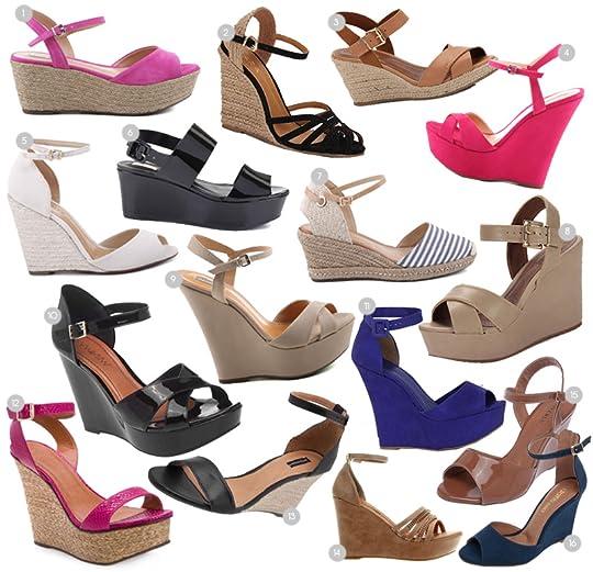 f744efc53 Comprando uma sandália anabela na internet