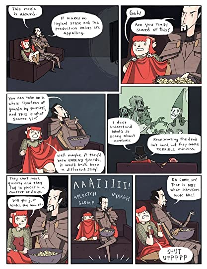 Nimona chapter 5 - page 17 | Gingerhaze Seriously is us watching movies: