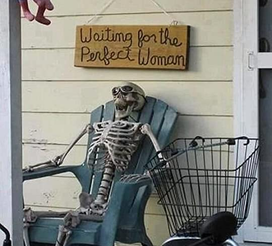 Waiting for the perfect woman