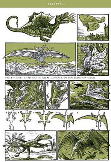 pg.254-green pages-winged dinosaurs
