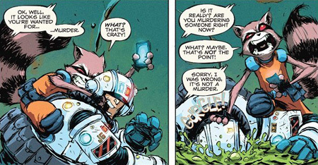 Rocket Raccoon, Volume 1: A Chasing Tale by Skottie Young
