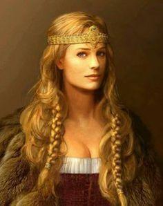 Nude viking goddess — pic 14