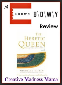 The Heretic Queen Review from the Egyptian Royals Collection on Creative Madness Mama