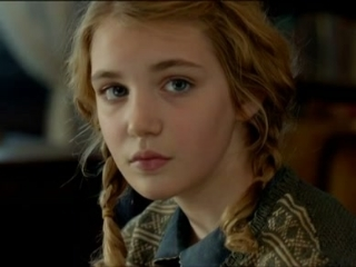 will byrnes s review of the book thief sophie nelisse as liesel meminger from tv guide
