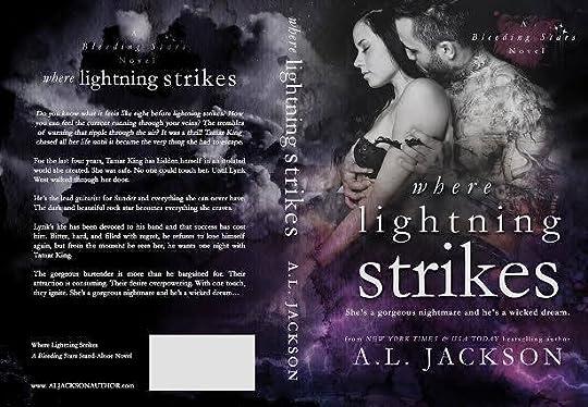 where lightning strikes bleeding stars 3 by a l jackson