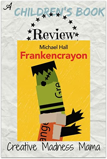Frankencrayon told by Michael Hall #bookreview #childrensbooks @HarperChildrens