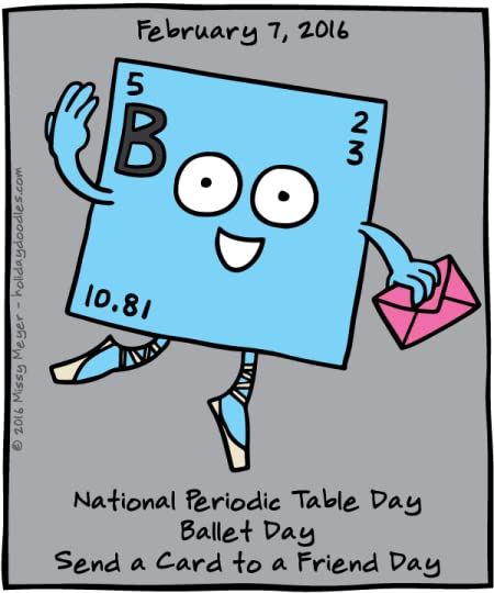 Missy Meyer S Blog February 7 2016 National Periodic Table Day