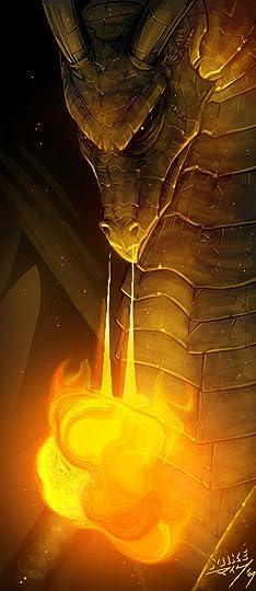 fire breathing dragon: